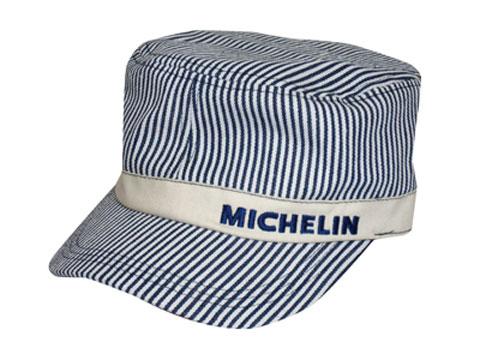 Michelin(ミシュラン)ワークキャップ,ヒッコリーストライプ