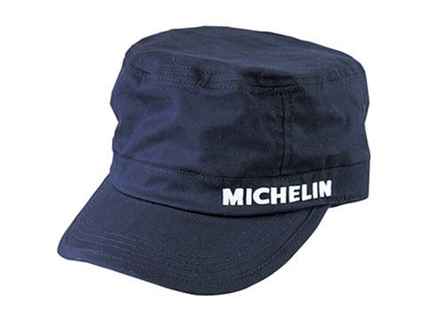 Michelin(ミシュラン)ワークキャップ,ネイビー,ツイル素材