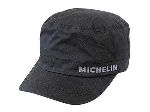 Michelin(ミシュラン)ワークキャップ,ブラック,ツイル素材