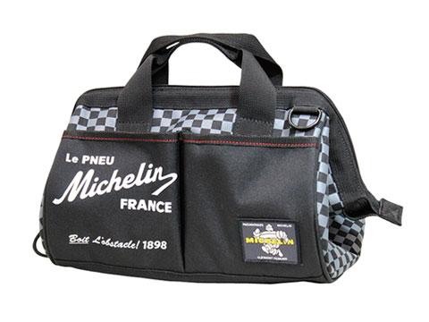 Michelin(ミシュラン)ツールバッグ,ブラック/チェッカー