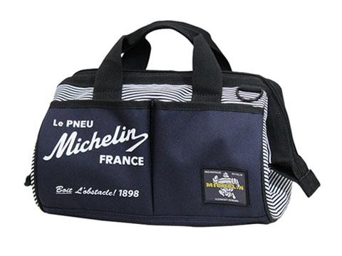 Michelin(ミシュラン)ツールバッグ,ネイビー/ストライプ