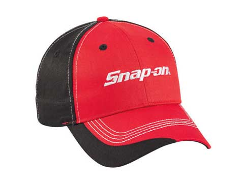 Snap-on(スナップオン)キャップ「SUPER CHARGED CAP - RED」