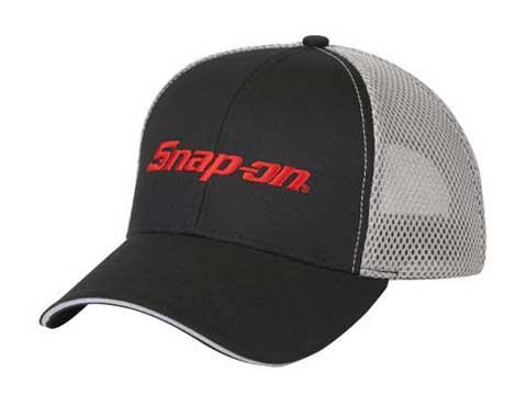 Snap-on(スナップオン)メッシュキャップ「FOAM MESH CAP - BLACK / GRAY」