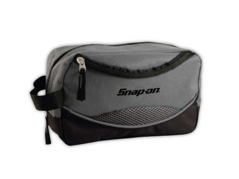 Snap-on(スナップオン)ポーチ「GRAY TRAVEL TOILETRY BAG」