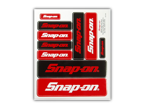 Snap-on(スナップオン)ステッカー「OFFICIAL LOGO DECAL SHEET」