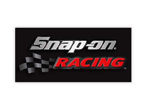 Snap-on(スナップオン)ステッカー「BLACK RACING DECAL」