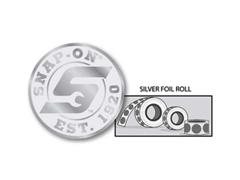 Snap-on(スナップオン)ステッカー「SILVER SEAL DECAL ROLL」