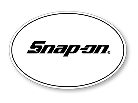 Snap-on(スナップオン)ステッカー「EUROPEAN OVAL DECAL」
