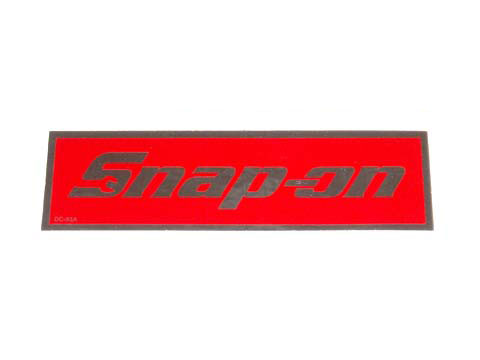 Snap-on(スナップオン)ステッカー「SNAP-ON LOGO DECAL - LARGE」