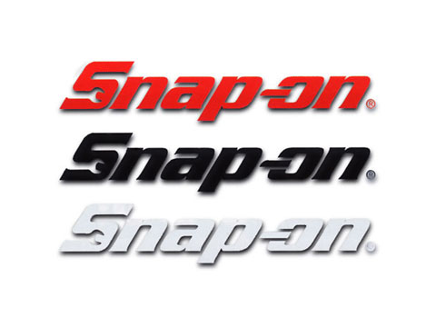 Snap-on(スナップオン)ステッカー「SNAP-ON DIE CUT LOGO DECAL - SMALL」