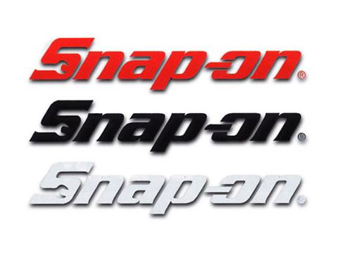 Snap-on(スナップオン)ステッカー「SNAP-ON DIE CUT LOGO DECAL - MEDIUM」