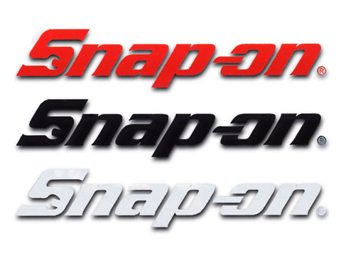 Snap-on(スナップオン)ステッカー「SNAP-ON DIE CUT LOGO DECAL - LARGE」