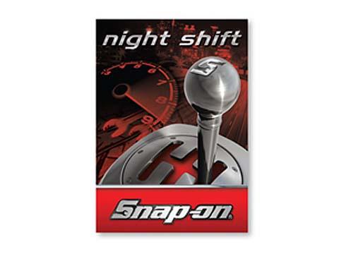 Snap-on(スナップオン)ステッカー「NIGHT SHIFT DECAL」