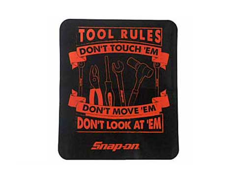 Snap-on(スナップオン)ステッカー「TOOL RULES DECAL」