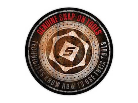 Snap-on(スナップオン)ステッカー「GENUNIE CIRCLE DECAL」