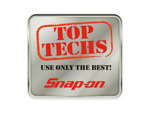Snap-on(スナップオン)ステッカー「TOP TECH DECAL」