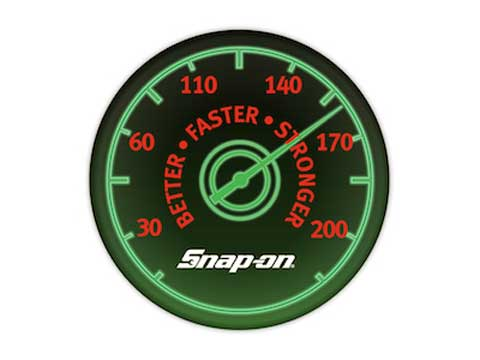 Snap-on(スナップオン)ステッカー「SPEED METER DECAL」