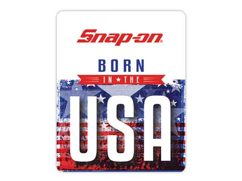 Snap-on(スナップオン)ステッカー「BORN IN THE USA DECAL」