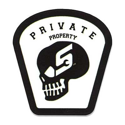 Snap-on(スナップオン)オフィシャルステッカー01「PRIVATE」