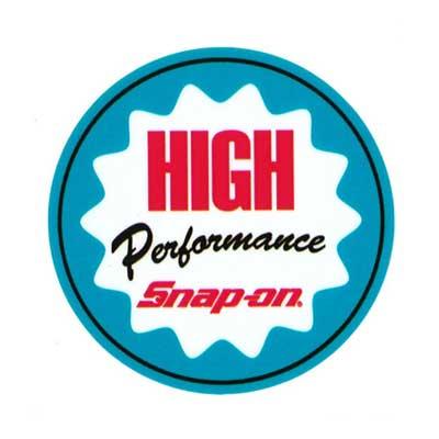 Snap-on(スナップオン)オフィシャルステッカー04「HIGH PERFORMANCE」