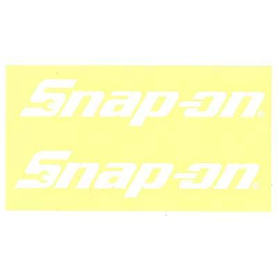 Snap-on(スナップオン)ロゴ転写ステッカー MEDIUM 03「LOGO - WHITE」
