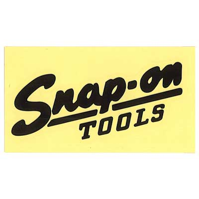 Snap-on(スナップオン)ロゴ転写ステッカー MEDIUM 04「VINTAGE LOGO - BLACK」