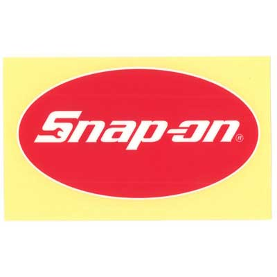 Snap-on(スナップオン)ロゴ転写ステッカー MEDIUM 07「OVAL LOGO」