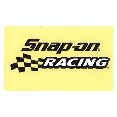 Snap-on(スナップオン)ロゴ転写ステッカー MEDIUM 11「RACING LOGO - BLACK」