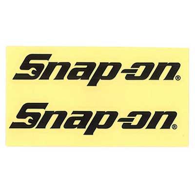 Snap-on(スナップオン)ロゴ転写ステッカー LARGE 01「LOGO - BLACK」