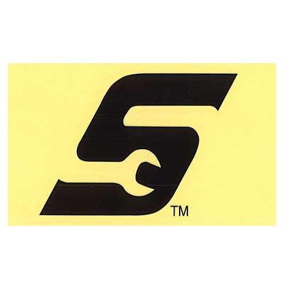 Snap-on(スナップオン)ロゴ転写ステッカー LARGE 08「WRENCH S LOGO - BLACK」