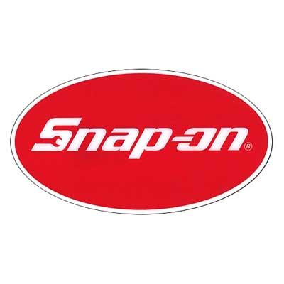 Snap-on(スナップオン)布用転写ステッカー07「OVAL LOGO」