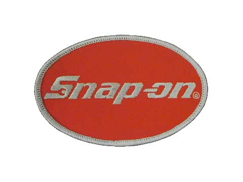 Snap-on(スナップオン)ワッペン「OVAL POCKET PATCH」