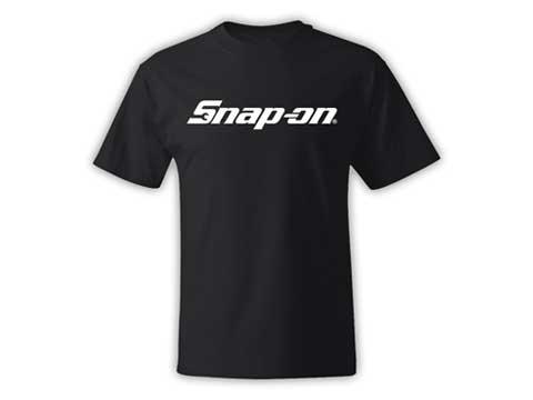 Snap-on(スナップオン)ティーシャツ「SNAP-ON BLACK LOGO TEE」