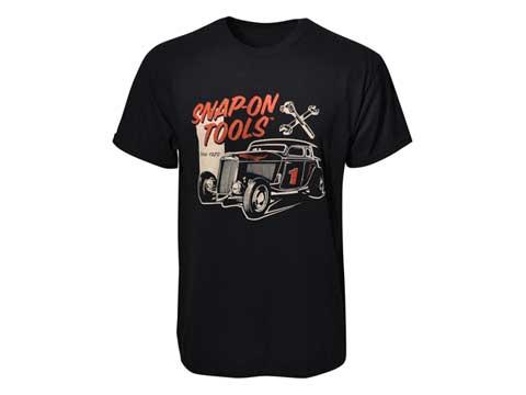 Snap-on(スナップオン)ティーシャツ「CLASSIC #1 CAR BLACK TEE」