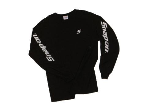 Snap-on(スナップオン)ティーシャツ「BLACK LONG SLEEVE TEE」