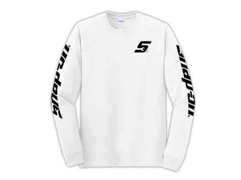 Snap-on(スナップオン)ティーシャツ「WHITE LONG SLEEVE TEE」