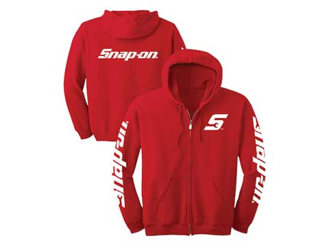 Snap-on(スナップオン)パーカー「RED BILLBOARD FULL ZIP HOODY」