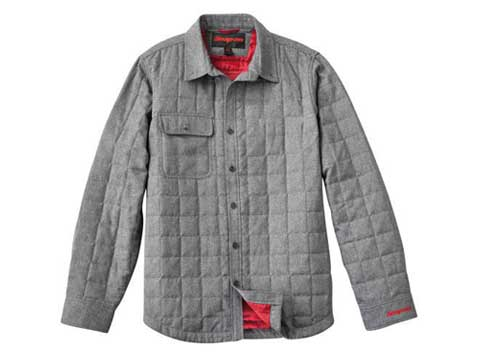 Snap-on(スナップオン)ジャケット「QUILTED SHIRT JACKET」