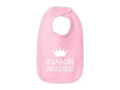 Snap-on(スナップオン)ベビースタイ「PINK INFANT PRINCESS BIB」