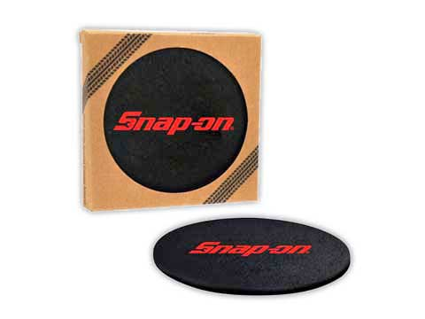 Snap-on(スナップオン)コースターセット「RECYCLED TIRE COASTER SET」