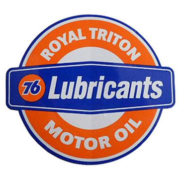 76Lubricants(ユノカル,ユニオン,ナナロク)オフィシャルステッカー(4)