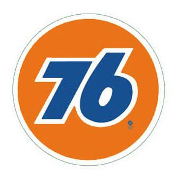 76Lubricants(ユノカル,ユニオン,ナナロク)オフィシャルラウンドロゴサイン