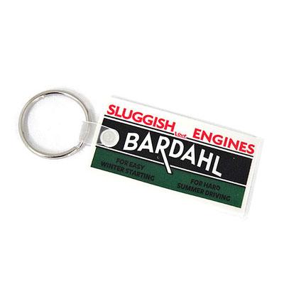 Bardahl(バーダル)ラバーキーホルダー スクエア型