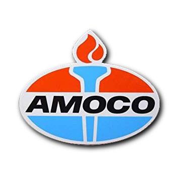 AMOCO(アモコ)ステッカー(2)