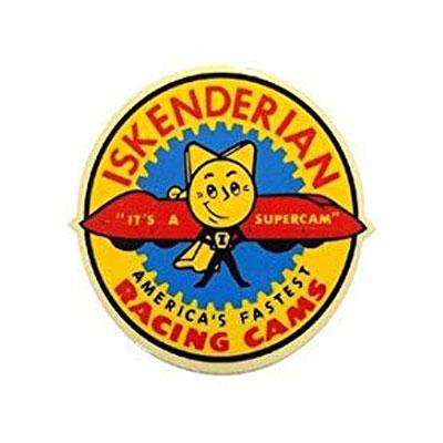 ISKENDERIAN RACING CAMS(イスケンデリアンレーシングカムズ)ステッカー(1)