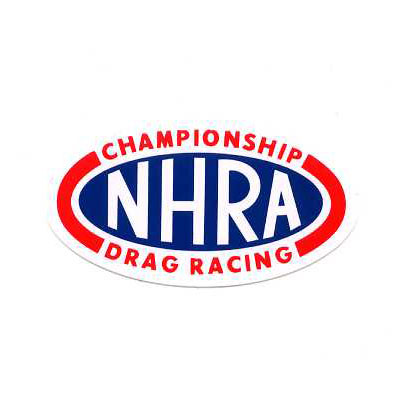 NHRA-DRAG RACINGステッカー