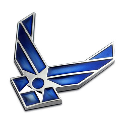 U.S.AIR.FORCE(U.S.エアーフォース)メタルエンブレム