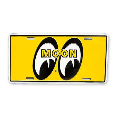 Mooneyes(ムーンアイズ)ライセンスプレート イエロー