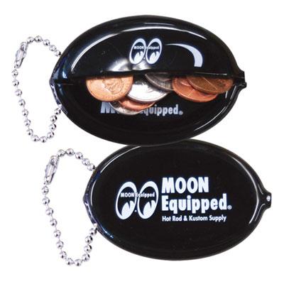 Mooneyes(ムーンアイズ)オーバルコインケース ブラック