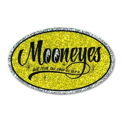 Mooneyes(ムーンアイズ)オーバルステッカー